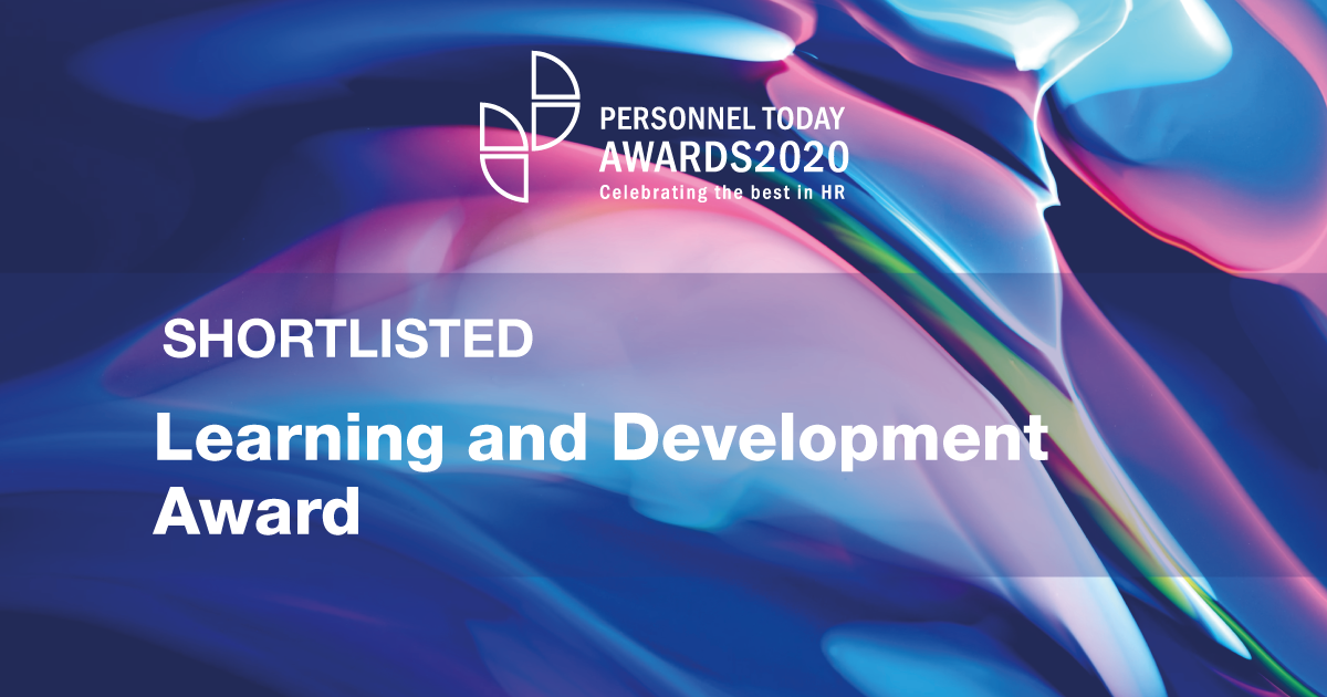 IQ-EQ shortlisted for Learning and Development Award at Personnel Today Awards 2020