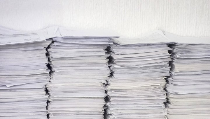 Mountains of documents