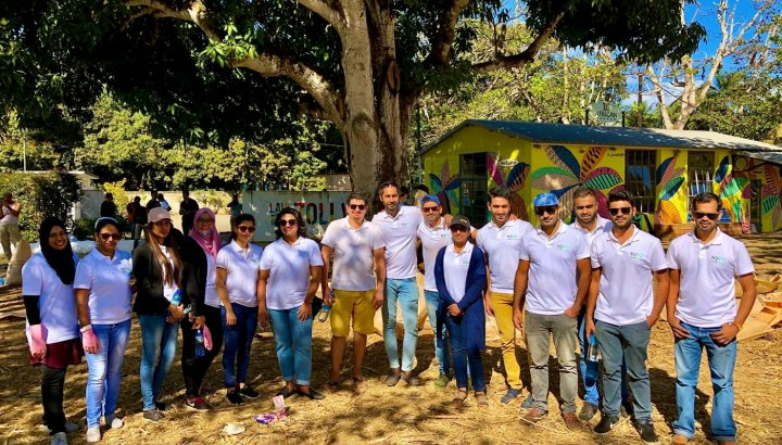 IQ-EQ Mauritius rallies to help clean up oil spill after shipwreck