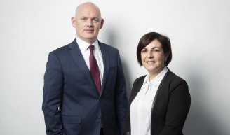 Peter Corry and Emilie Romain, IQ-EQ Luxembourg